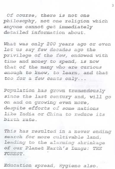 Globalisation 2 por Swami Pranavananda Brahmendra Avadhuta