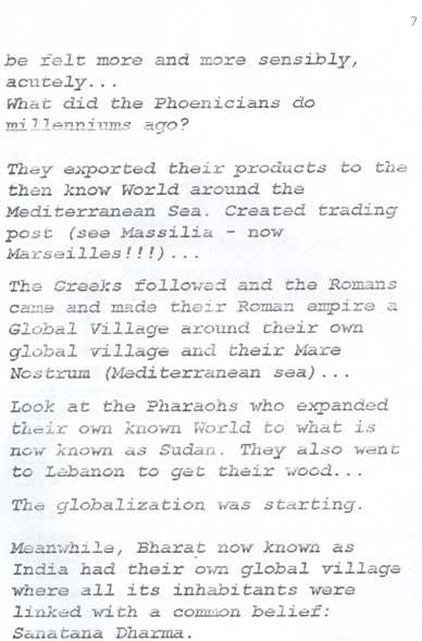 Globalisation 6 por Swami Pranavananda Brahmendra Avadhuta
