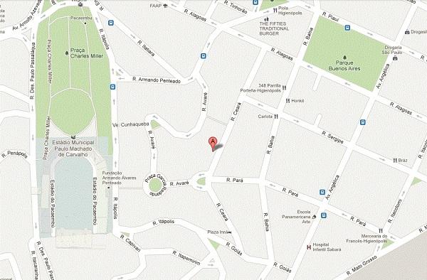 Rua Ceará, 272, Consolação, São Paulo, SP