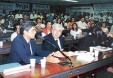 Dr. Ruy Alfredo de Bastos Freire Filho e o Deputado Federal Luiz Antonio Fleury